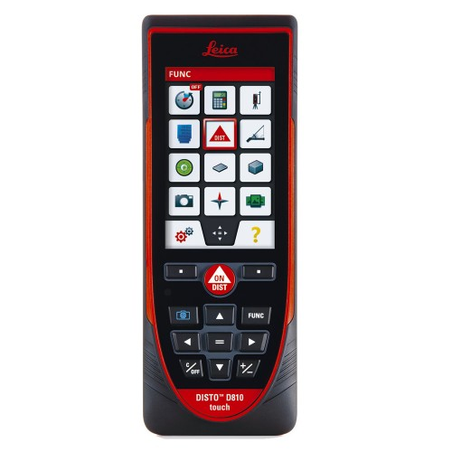 Distanciómetro láser Leica DISTO™ D810 touch con Bluetooth