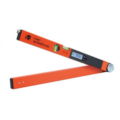 Medidor de ángulos digital Nedo Laser-Winkeltronic con 2 punteros láser