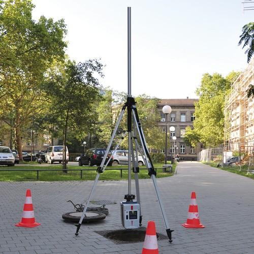 Trípode de manivela para escáner láser (Trípode de pozo)