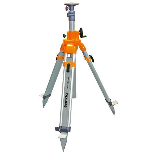 Trípode de columna  y manivela pesado 0.80 - 2.40 m
