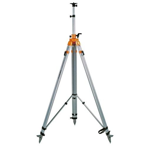 Trípode de columna manivela pesado con tirantes 1.77 - 4.00 m