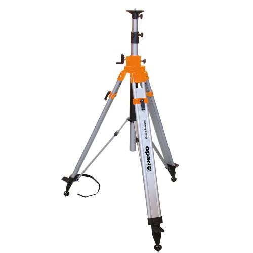 Trípode de columna manivela pesado con tirantes 0.85 - 3.02 m