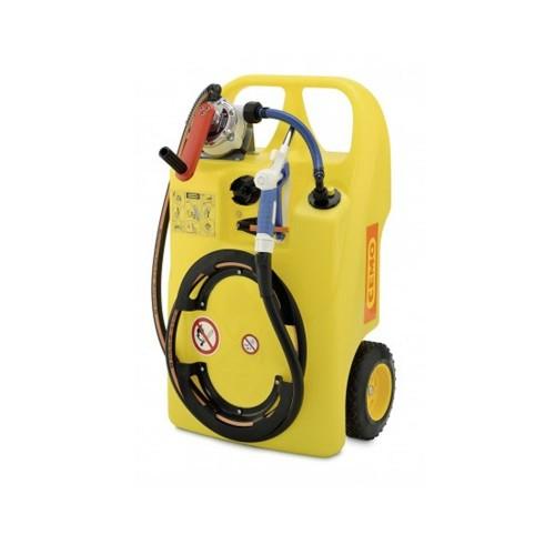 Carretilla (depósito portátil) para líquido limpiaparabrisas y anticongelante 60 litros