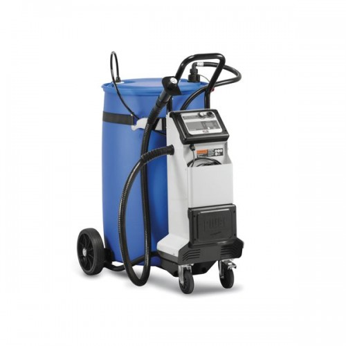 Bomba eléctrica para repostaje AdBlue® móvil con porta bidones 200 l Bluefill PRO X