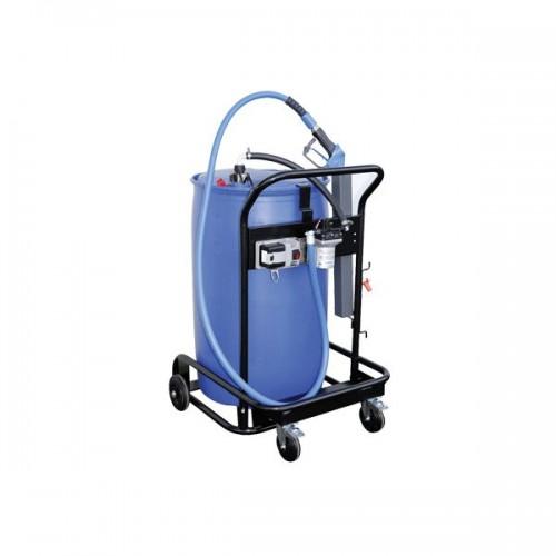 Bomba eléctrica para repostaje AdBlue® móvil con porta bidones 200 l Bluetroll Car PRO