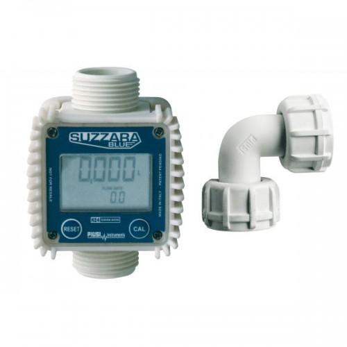 Contador Caudalímetro digital K24, plástico