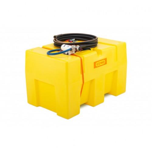 Depósito para riego y aspersión con bomba de agua BWS 25-Pro PE 600 litros