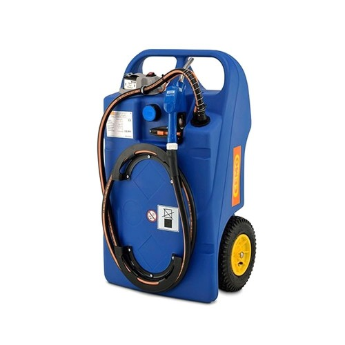 Carretilla para AdBlue® 100 litros con bomba eléctrica y batería