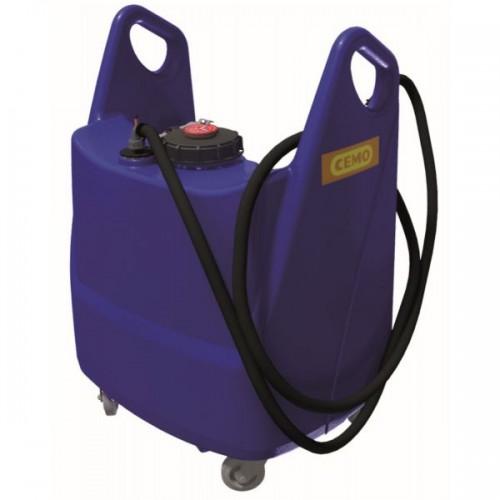 Carretilla Trolley para AdBlue® 130 litros, con bomba, batería, cargador y pistola automática