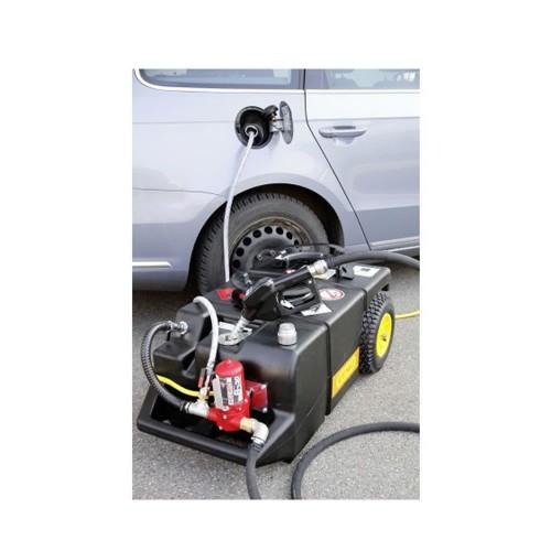 Carretilla de extracción, vaciado y repostaje 95 litros eléctrica para gasolina