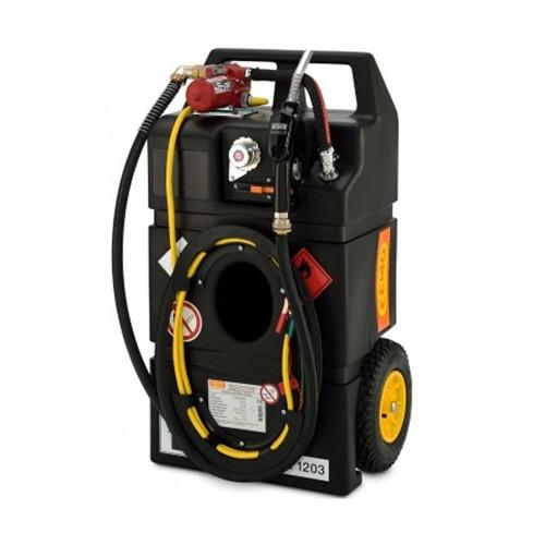 Carretilla para Gasolina 95 litros con bomba eléctrica