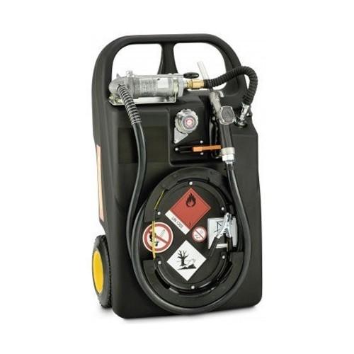 Carretilla para Gasolina 60 litros con bomba manual