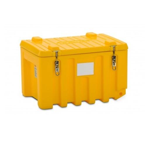 Baúl contenedor caja almacenaje CEMbox 150 l amarillo