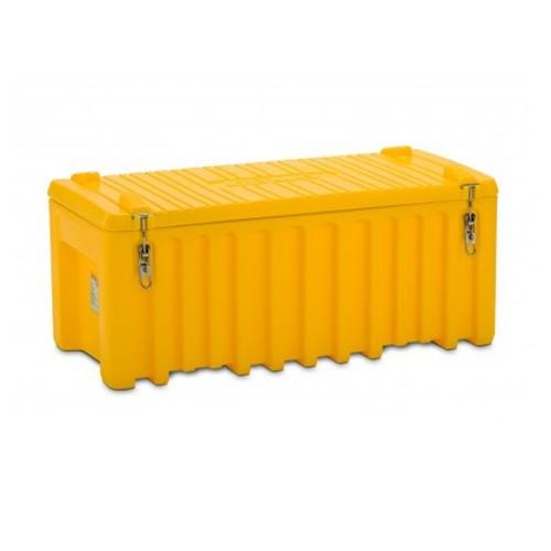 Baúl contenedor caja almacenaje CEMbox 250 l amarillo