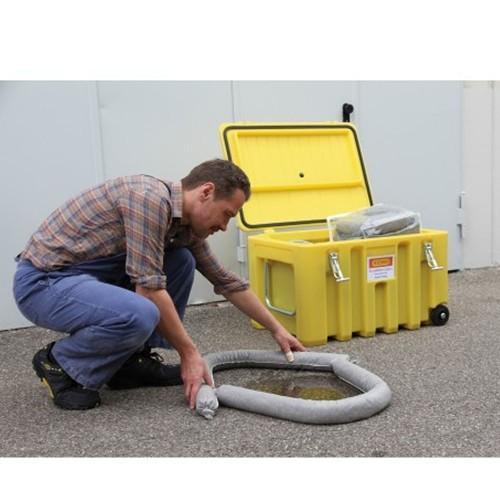 Carro contenedor de emergencias absorbentes Cemsorb 150 l