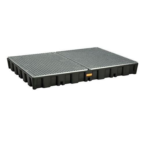 Bandeja colectora PE 250 HD con rejilla de acero galvanizada