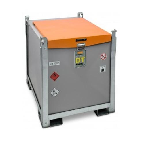 Depósito de gasoil para maquinaria y obras básico con bomba 12 V