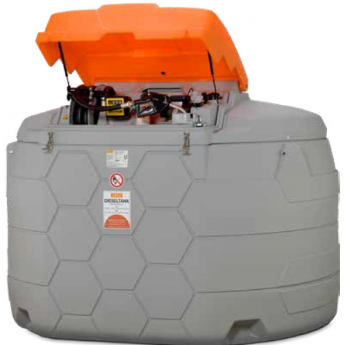 Depósito de Gasoil 5000 litros Premium exterior