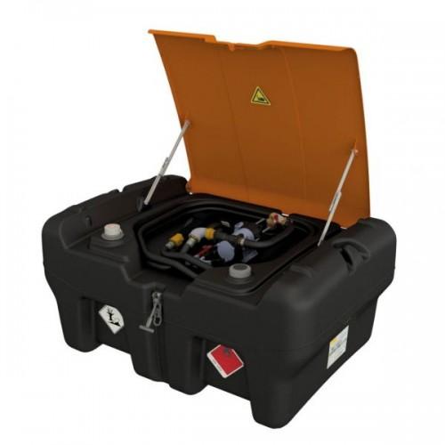 Depósito gasolina 330 litros KS-Mobil Easy con bomba eléctrica 12V y tapa abatible