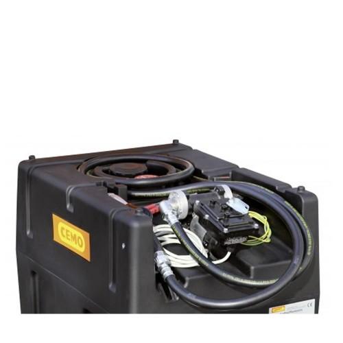 Depósito gasolina 120 litros con bomba eléctrica