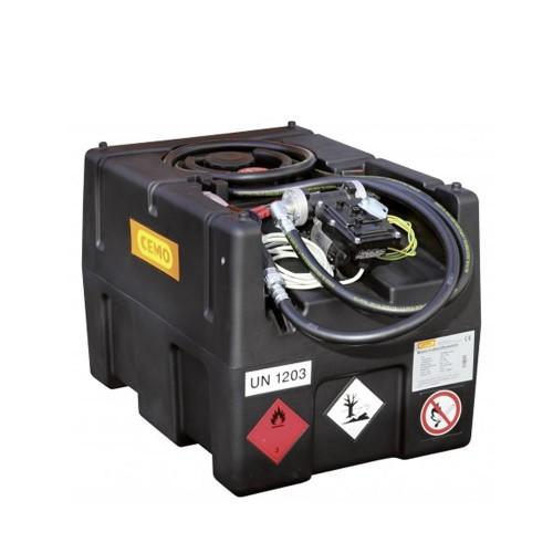 Depósito gasolina móvil 190 litros con bomba eléctrica