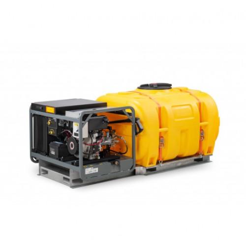 Máquina de limpieza a presión, hidrolimpiadora - sulfatadora, MCS 1000 HD 1000 litros Móvil Diésel