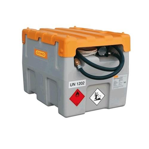 Depósito gasoil 200 litros bomba eléctrica 12 V y tapa Homologación ADR