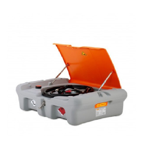 Depósito de gasoil 220 litros Pick Up con bomba eléctrica 12 V y tapa