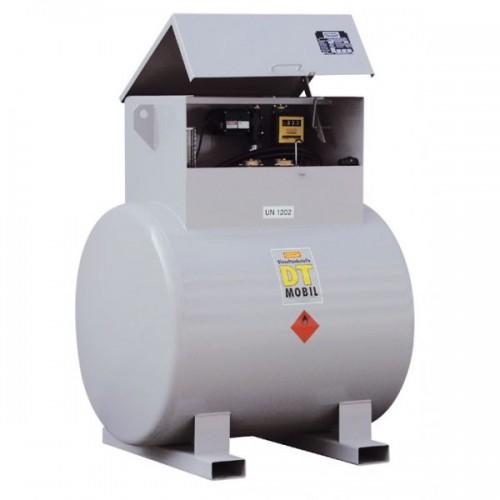 Depósito de acero doble pared 980 litros gasoil