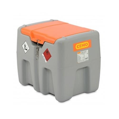 Depósito de gasoil 210 litros con bomba eléctrica 12 V y tapa abatible