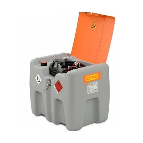 Depósito gasoil 210 litros con bomba eléctrica CENTRI SP 12 V y tapa abatible