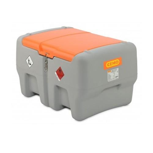 Depósito diésel 440 litros con bomba eléctrica 12 V y tapa abatible