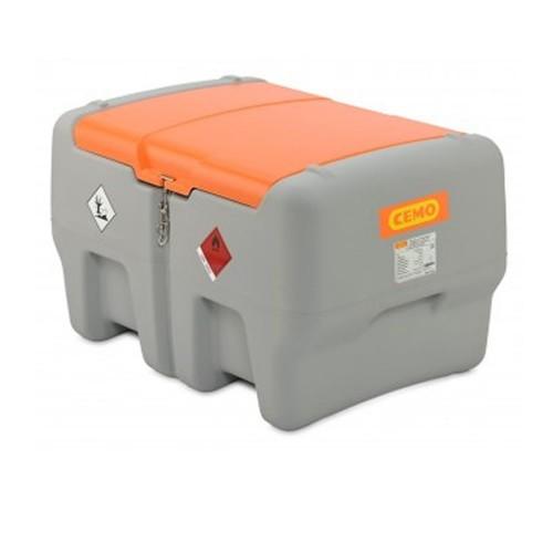 Depósito de gasoil 440 litros con bomba eléctrica CENTRI SP 12 V y tapa abatible