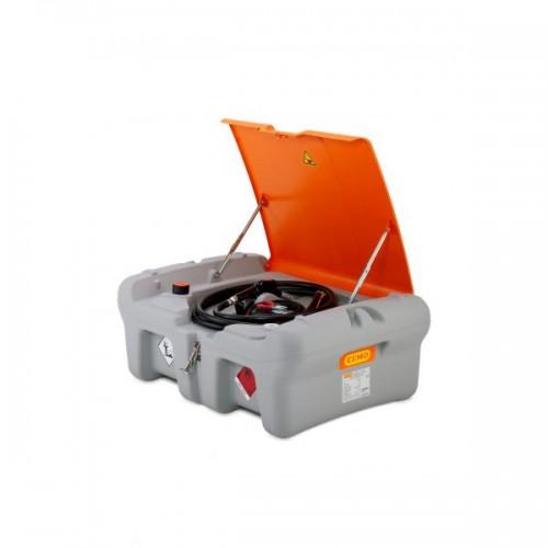 Depósito de gasoil 220 litros Pick Up con bomba eléctrica CENTRI SP 30 12 V, sin tapa