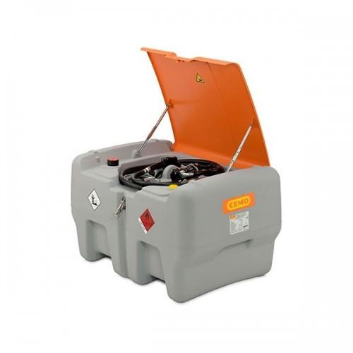 Depósito diésel 440 litros con bomba eléctrica 24 V y tapa abatible