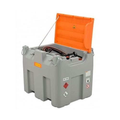 Depósito de gasoil combinado 850/100 litros Gasoil /AdBlue ® Básico, con bomba eléctrica Cematic Duo 24 / 12 V