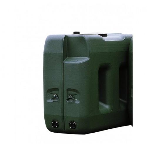 Depósito de polietileno 3000 litros para almacenaje, modelo largo
