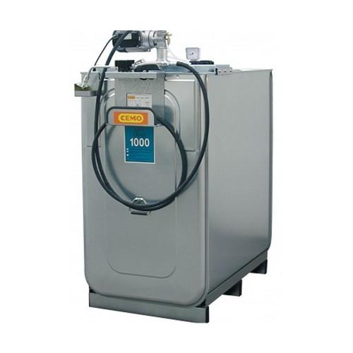 Depósito HDPE 1000 litros con bomba eléctrica para lubricantes (Aceite)