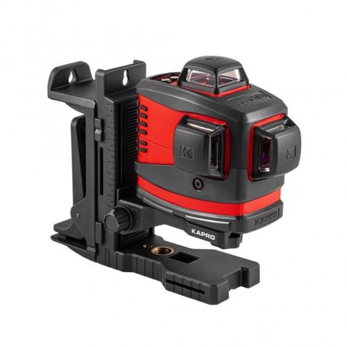 Nivel láser de líneas Kapro 883N Prolaser® 3D All-lines Set completo