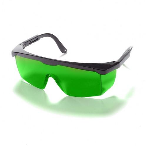 Gafa verde láser