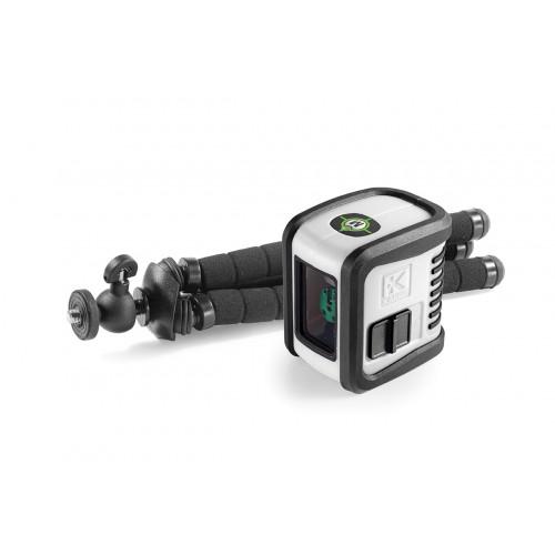 Nivel láser de líneas verde Kapro 842G Prolaser® Bambino Set
