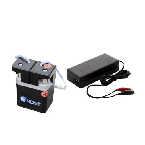 Batería de litio recargable con cargador Li-Power-Block 12.8 V - 3.3 Ah