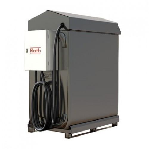 Depósito de gasoil 1000 litros con bomba de suministro 230 V certificación ADR