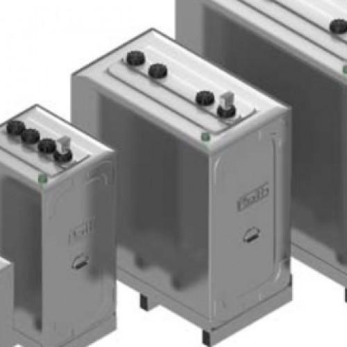 Depósito gasoil 1000 litros doble cubeto Roth Duo System