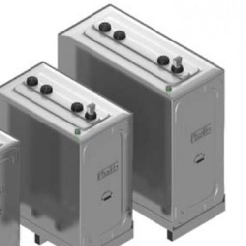 Depósito gasoil 1500 litros doble cubeto Roth Duo System