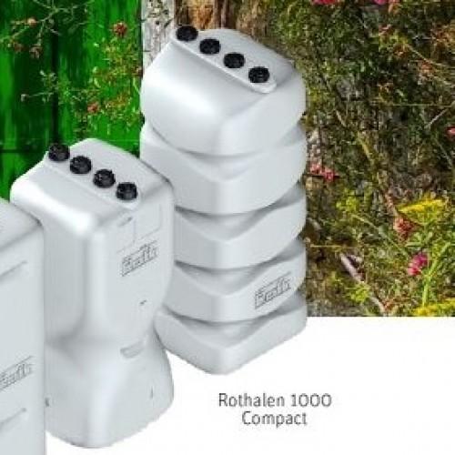 Depósito gasoil 1000 litros de plástico Rothalen Compact