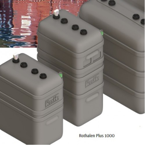 Depósito gasoil 1000 litros doble pared Rothalen Plus