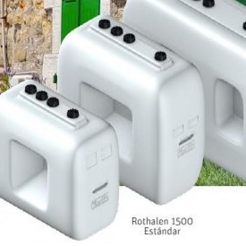 Depósito gasoil 1500 litros de plástico Rothalen