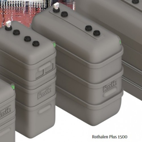 Depósito gasoil 1500 litros doble pared Rothalen Plus