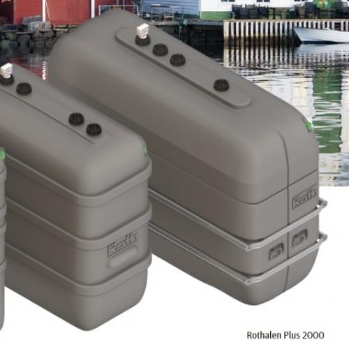 Depósito gasoil 2000 litros doble pared Rothalen Plus
